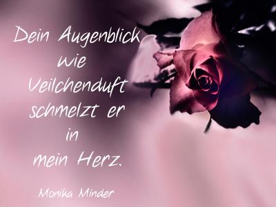 Schön Rosenbild Mit Modernem Liebesspruch